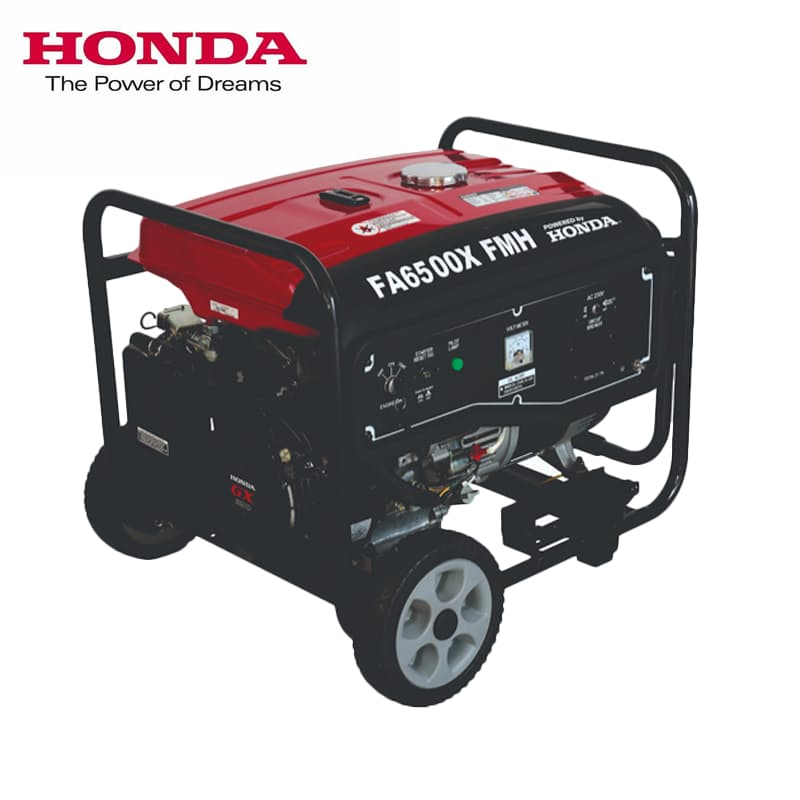 5,5kVA Petrol Generator on Wheels with Electric Start
