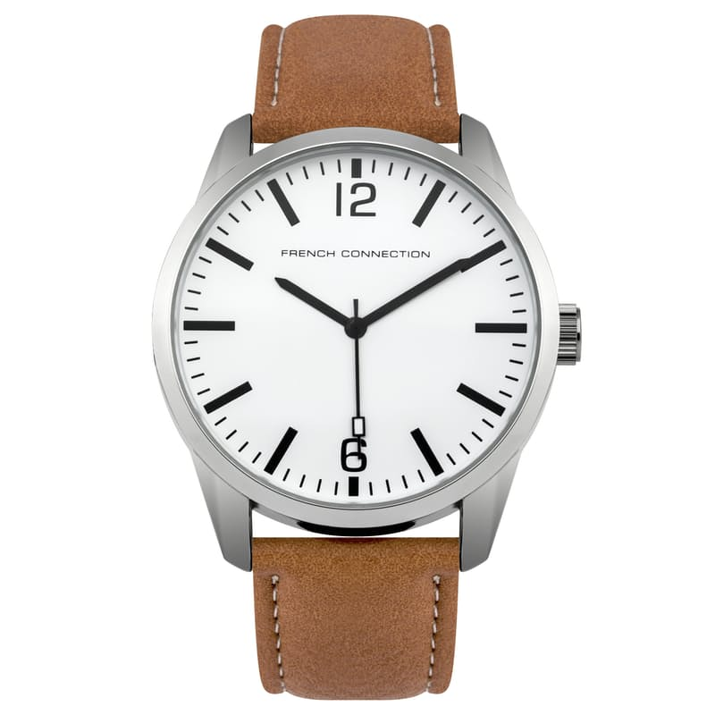 Men's Round Face Watch