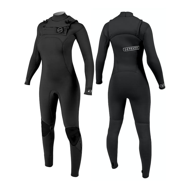Men's and Ladies 4.3mm Black Wetsuit