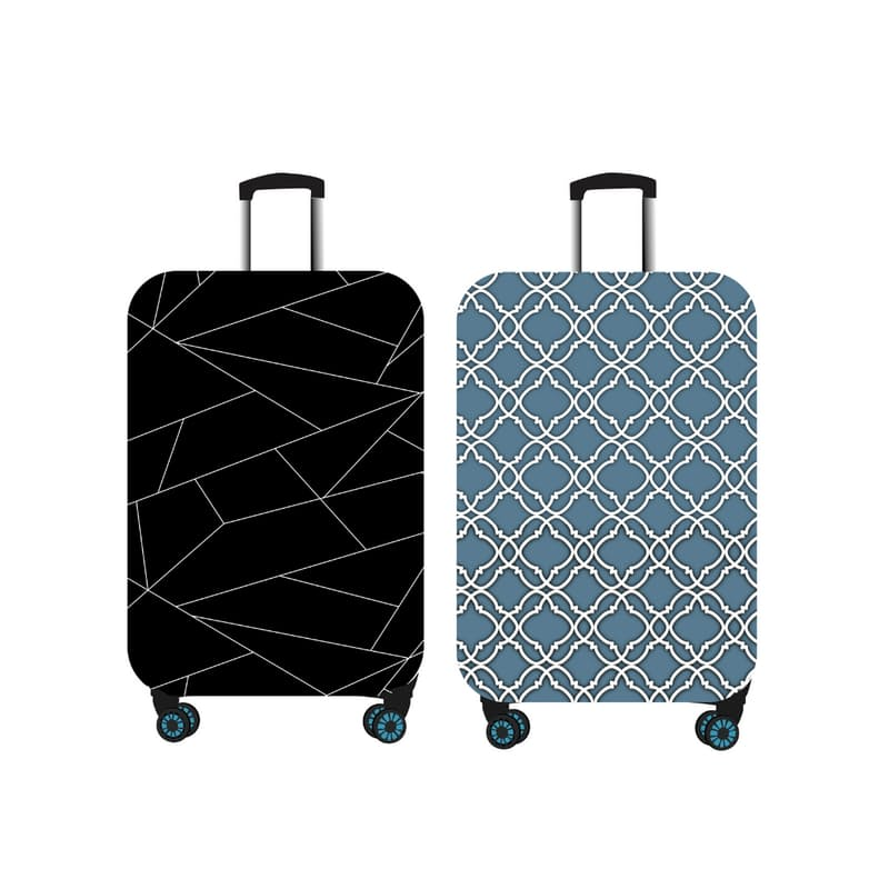 Pack of 2 Suitcase Covers