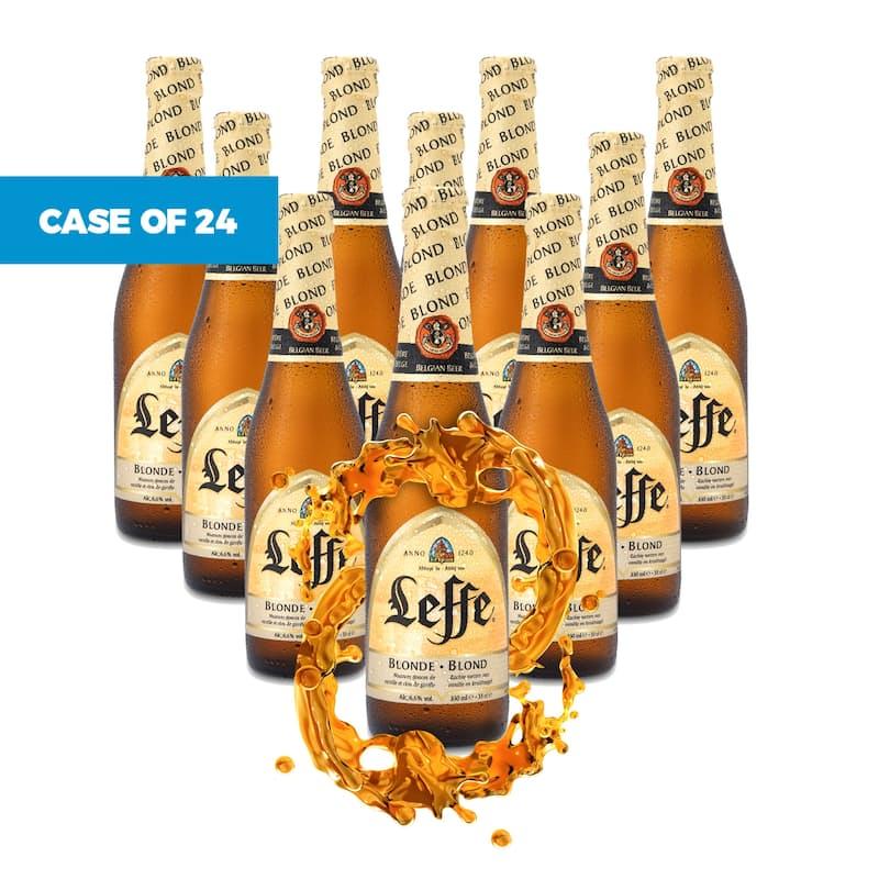 Fully Imported From Belgium Case of 24 Premium Blonde Beer (R10.41 Per 330ml Beer)