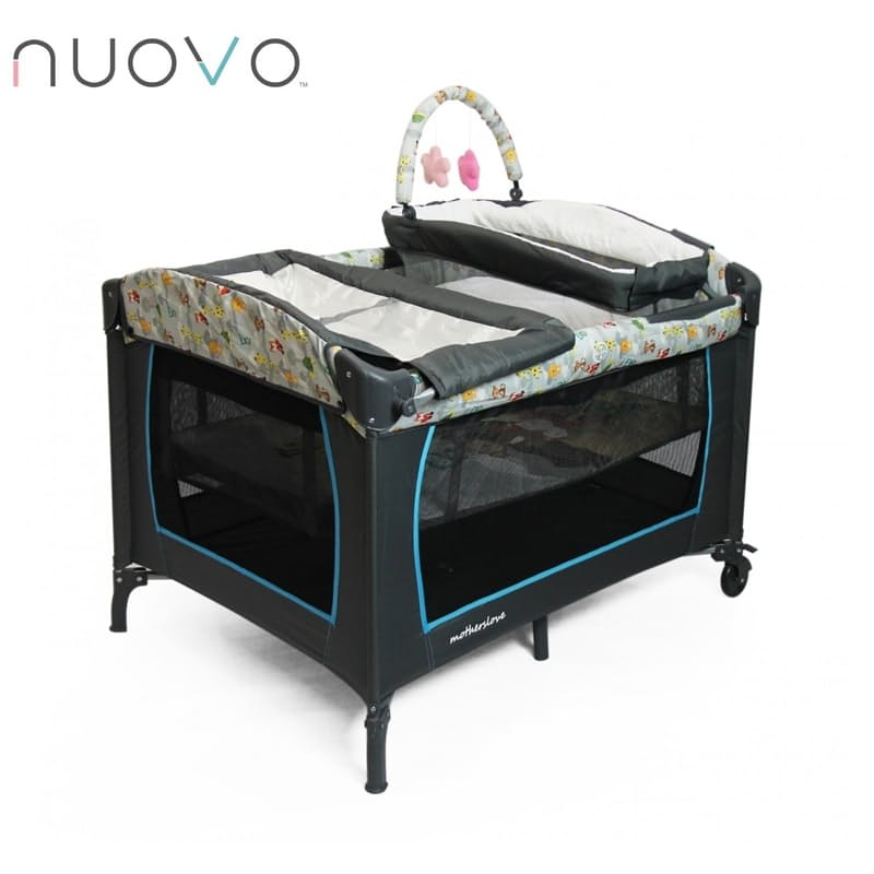 Camp Cot with Changing Station & Bassinet