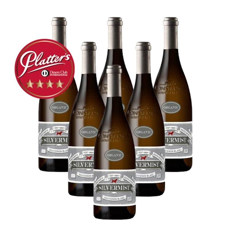 Case of Organic Sauvignon Blanc 2018 (R113.16 per Bottle, 6 Bottles)