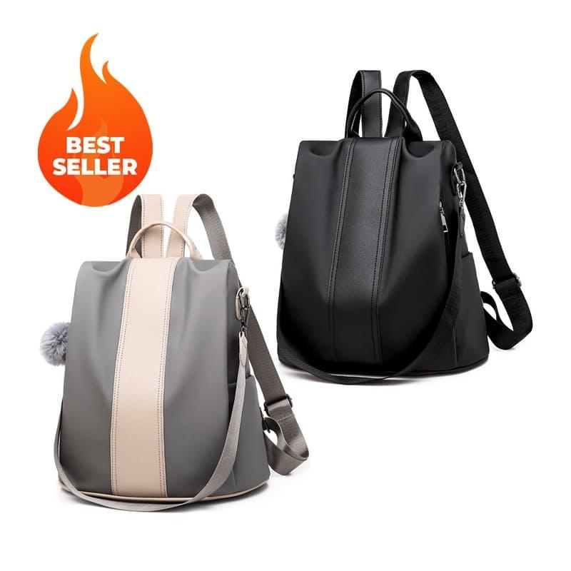 Ladies 3 Way Waterproof Anti-theft Backpack