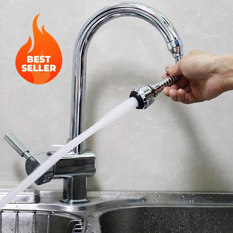 Flexible Faucet Swivel Spray Sink Hose Attachment (Non-Metal)