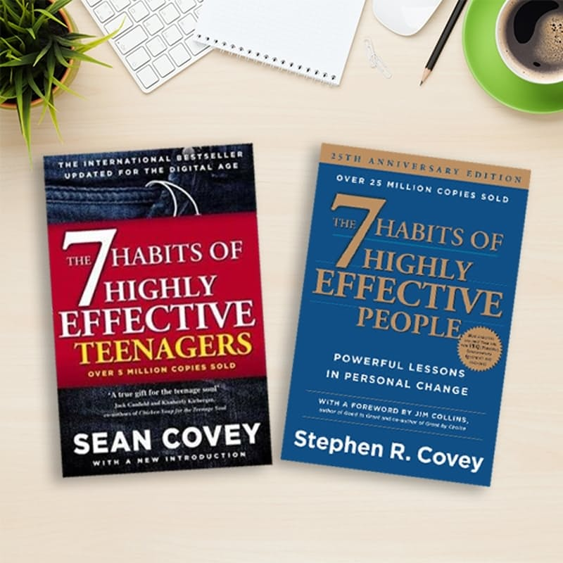 The 7 Habits Of Highly Effective People & The 7 Habits Of Highly Effective Teenagers Book Bundle