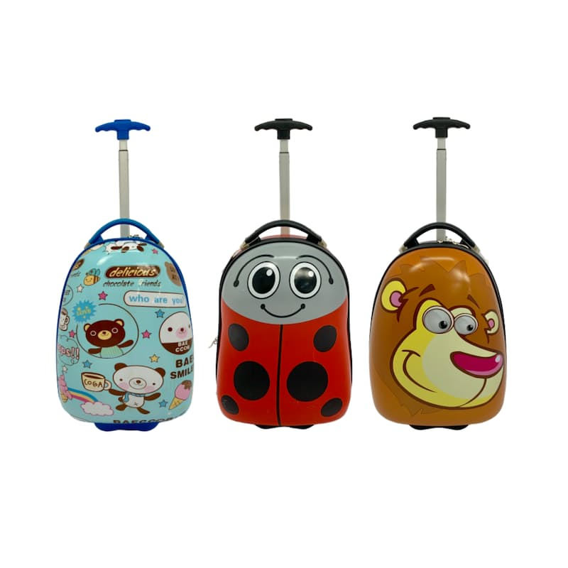 Holiday Kids Character Trolley Bag (Multiple Options Available)