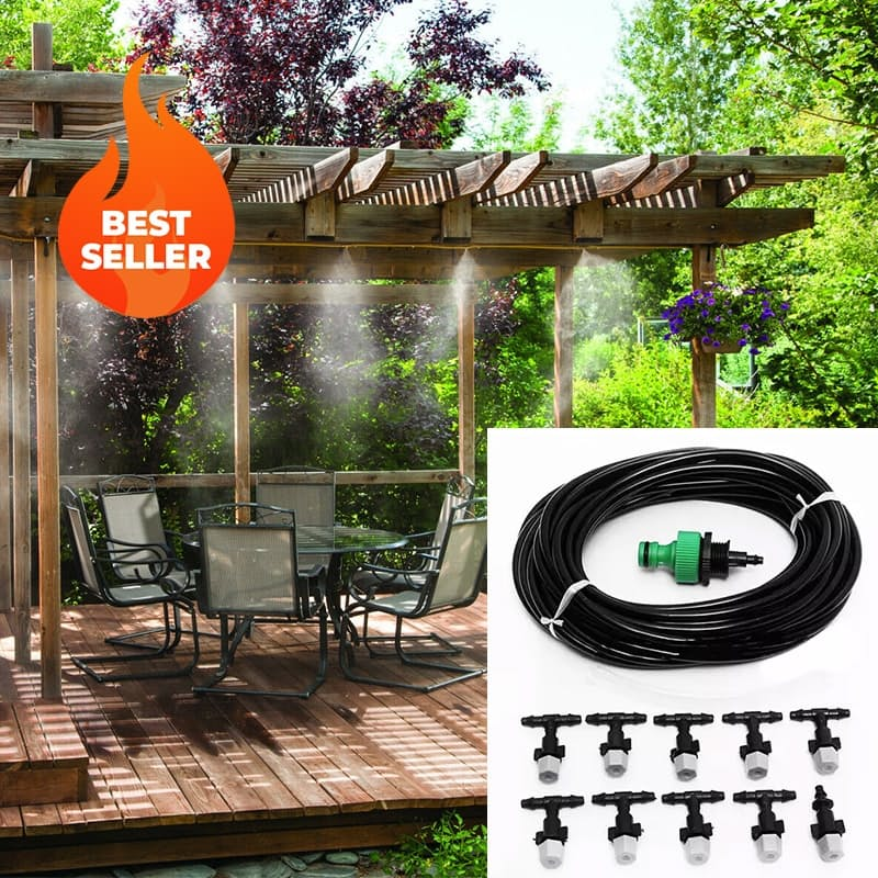 DIY Outdoor Cooling Mist System (Perfect for Summer)