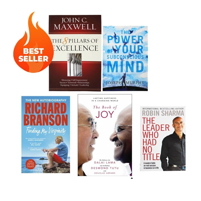 Must-Have Non-Fiction Books (Set of 3 Books - Choose Your Own!)