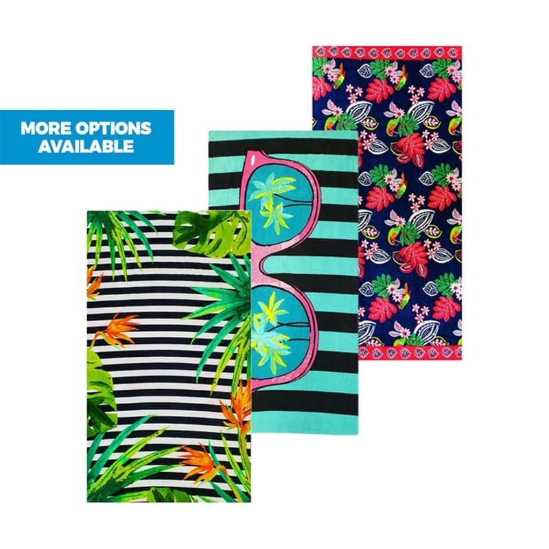 380gsm 100% Printed Cotton Beach Towels