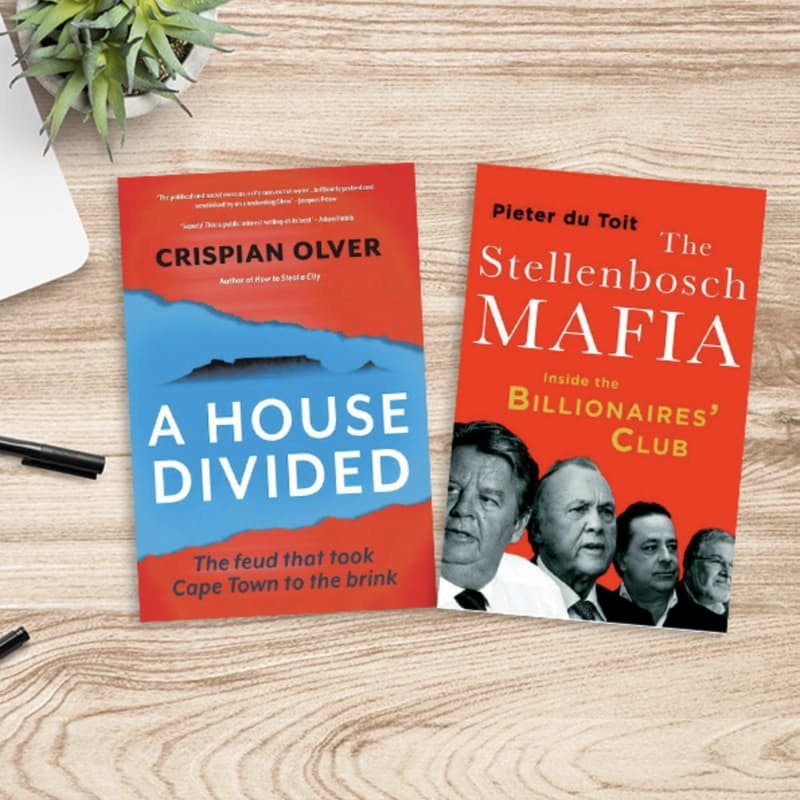 A House Divided & Stellenbosch Mafia Book Bundle