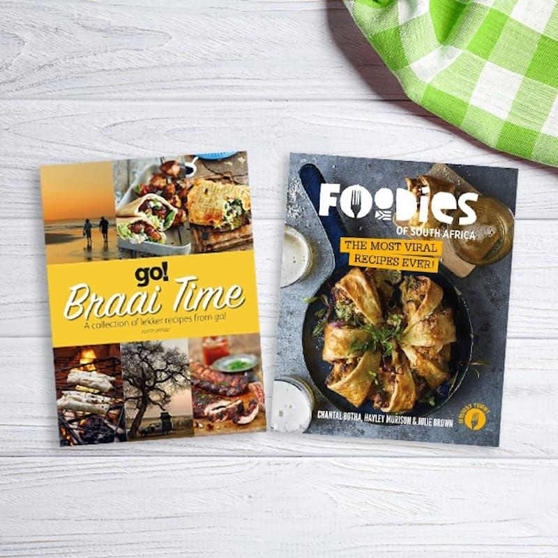 Braai Time and Foodies of South Africa Cookbook Bundle
