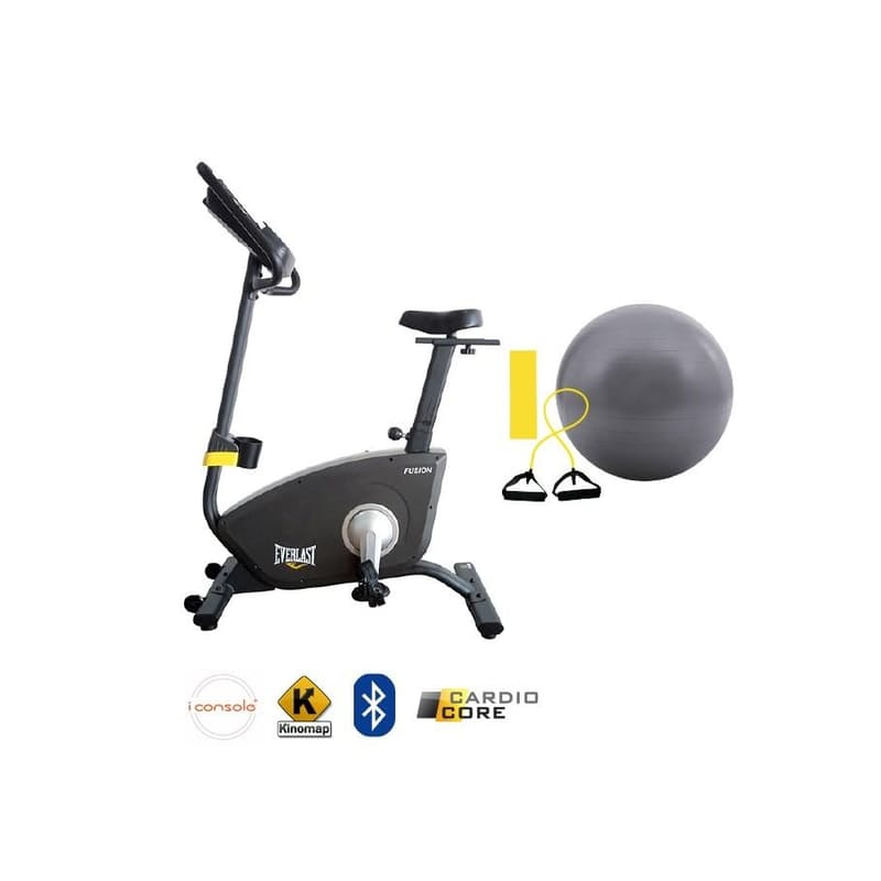 Fusion Bike with Bluetooth, Fitness Apps and Cardio Core Accessories