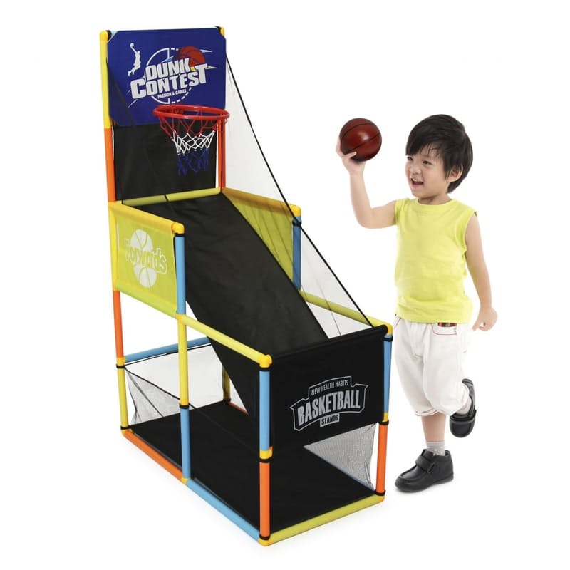 Adjustable Basketball Set with 4 Levels