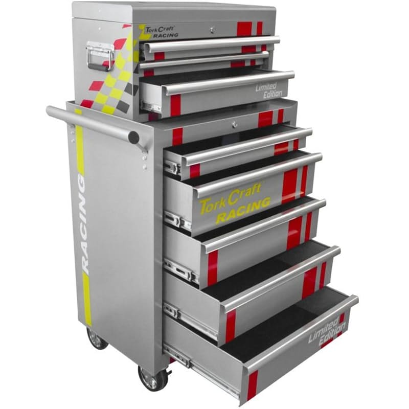 5 Drawer Tool Trolley with 3 Drawer Top Box