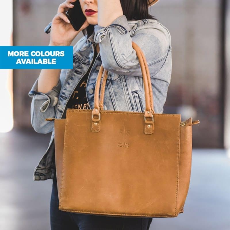 Genuine Leather Naomi Handbag