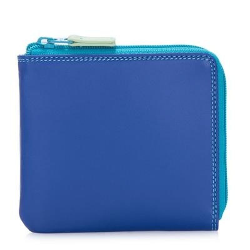 Genuine Nappa Leather Small Zip Around Wallet