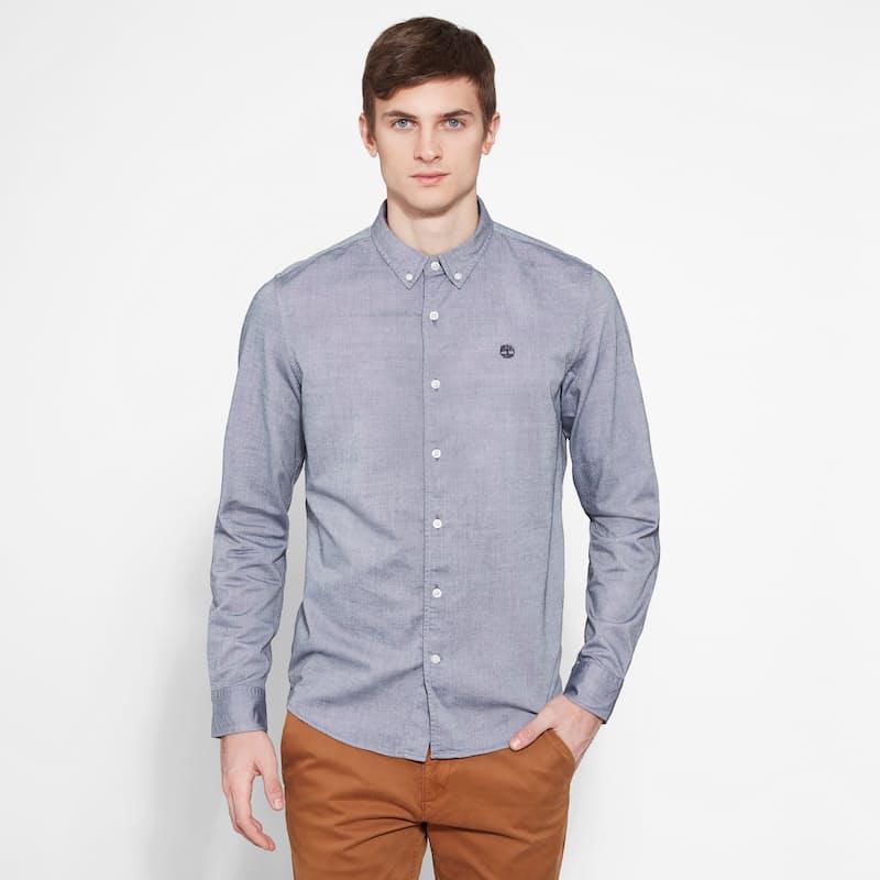Mens Slim Rattle River Oxford Shirt