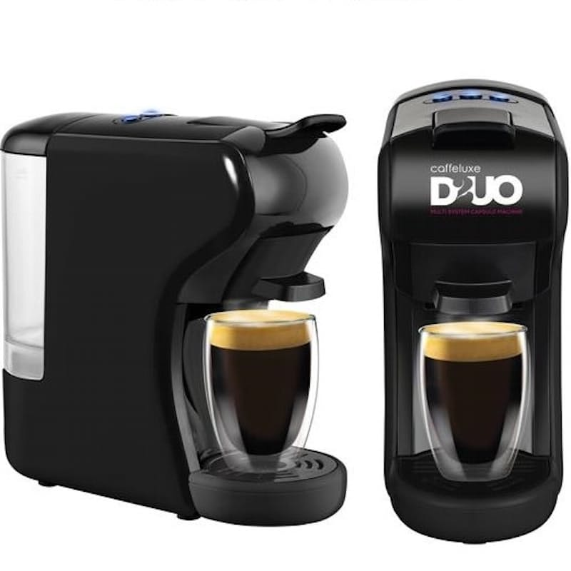 DUO Machine & 100 Nespresso Compatible & Dolcé Gusto® Compatible Coffee Capsules