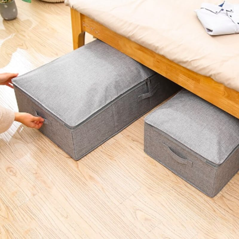 Pack of 2 Space Saving Multi-functional Collapsible Storage Bags