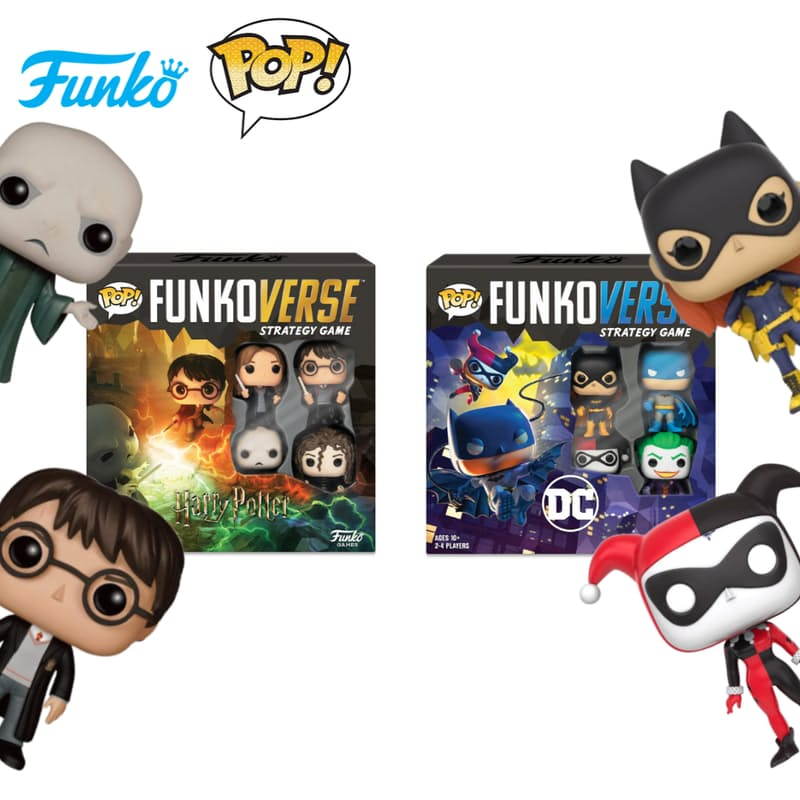 Funkoverse Strategy Game Base Set (Multiple Options Available)