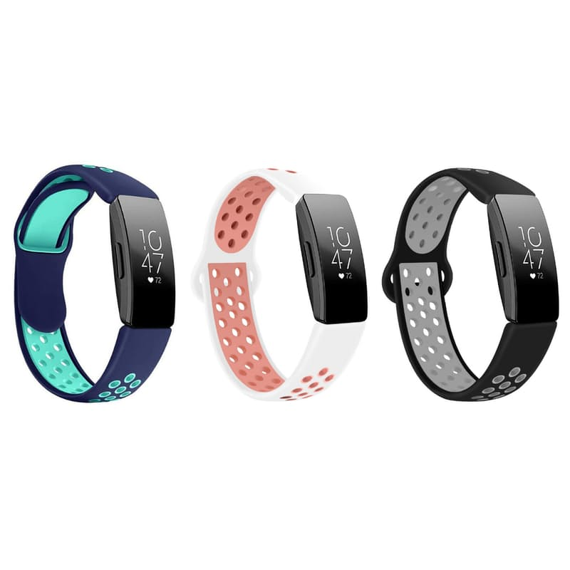 Silicone Fitbit Inspire Strap (Multiple Colours Available)