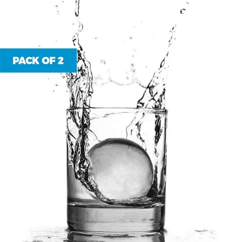 Pack of 2 Jumbo Ice Ball Trays