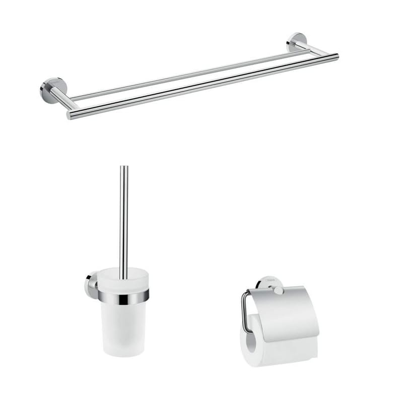 3-in-1 Logis Universal Bathroom Accessory Set