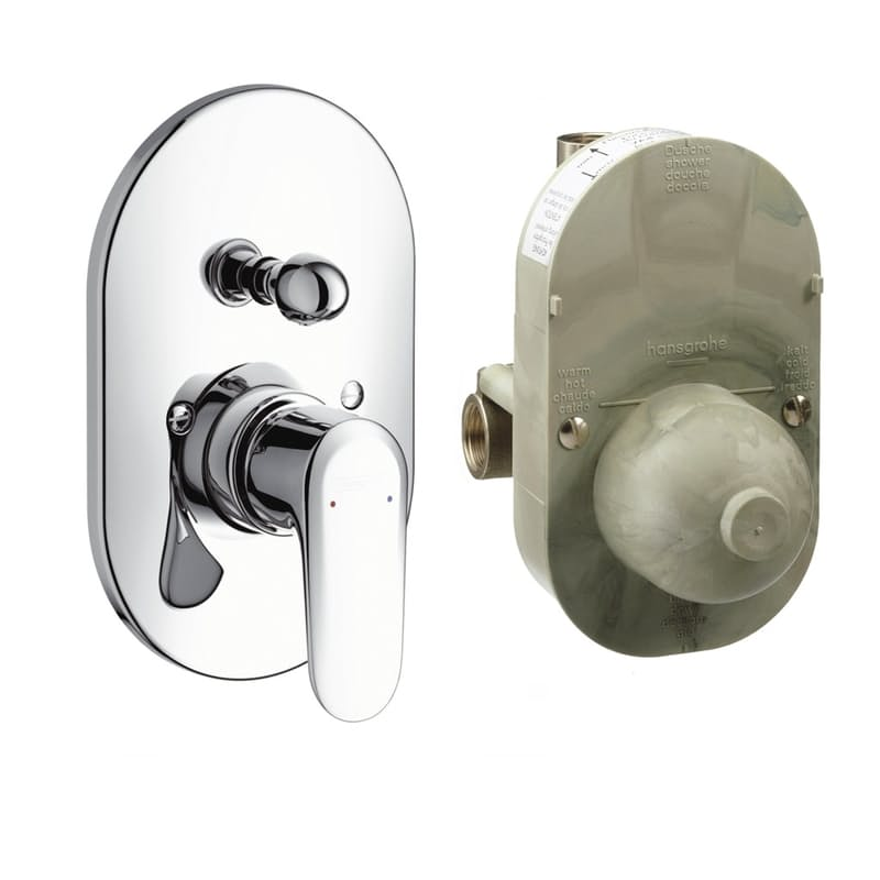 Ecos Bath Diverter Mixer Concealed