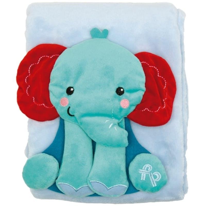 Elephant or Lion Flannel Blanket (800X800mm)
