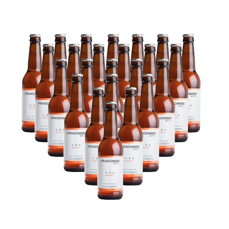 Orange Pale Ale (R24.95 per 340ml bottle, 24 bottles)
