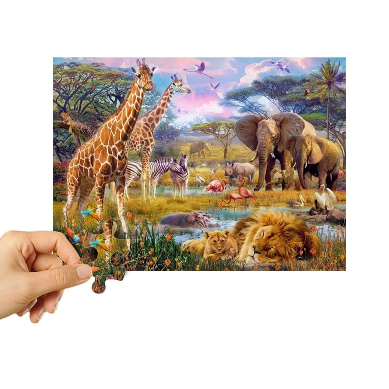 Magical Wildlife 1500 Piece Adult Puzzles