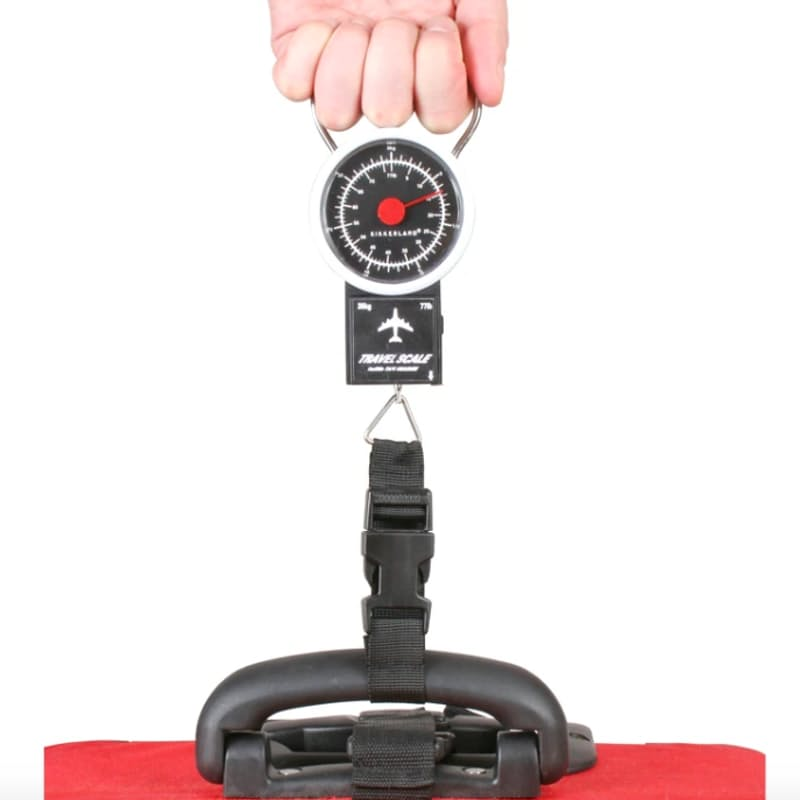 Retro Travel Luggage Scale & Tape Measure