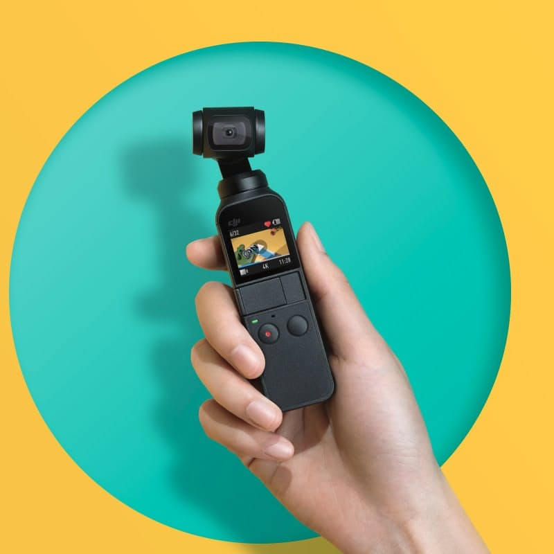 3-axis 4K Osmo Pocket Camera