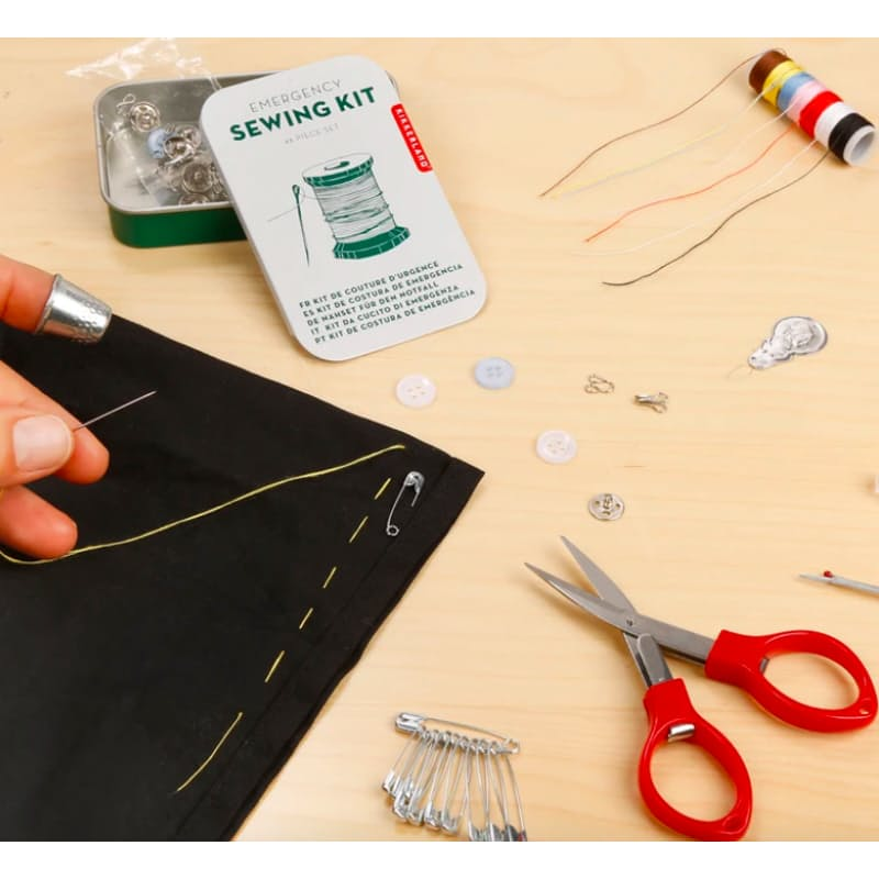 Retro Emergency Sewing Kit