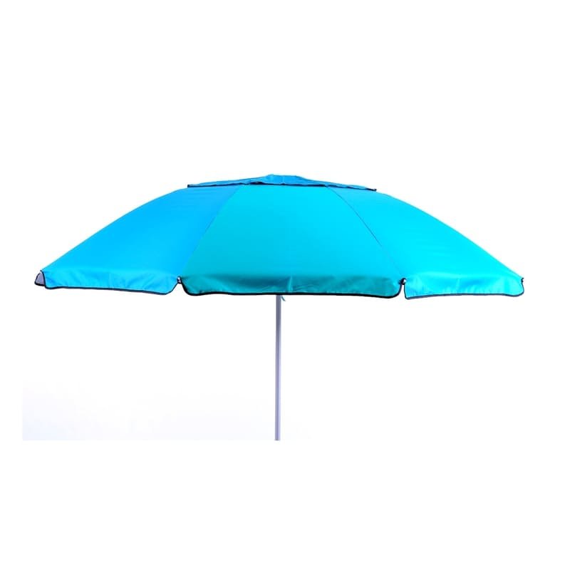 2.15m Aluminium Beach Umbrella (Multiple Colours Available)