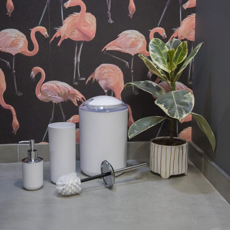 6 Piece Acrylic Accessories Bathroom Set