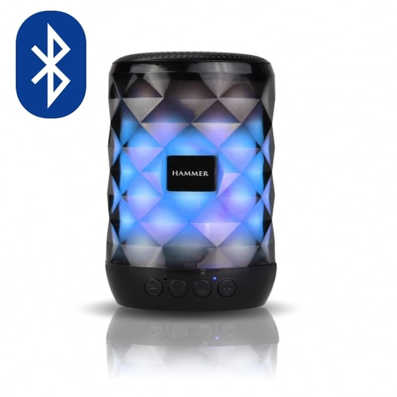 Hammer Multifunctional LED Bluetooth Speaker