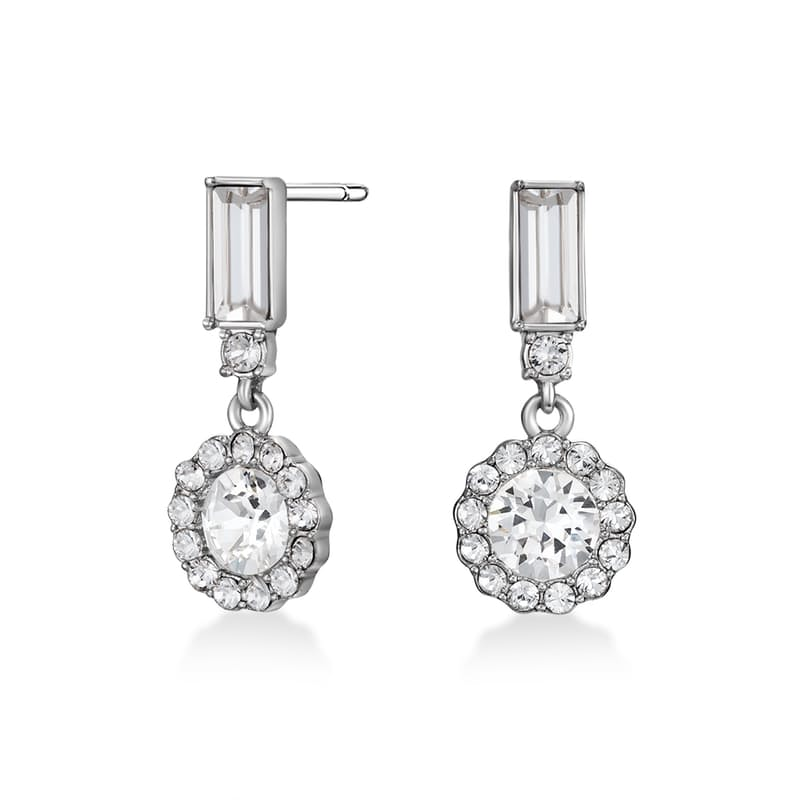 Gracie Earrings with Swarovski Crystals