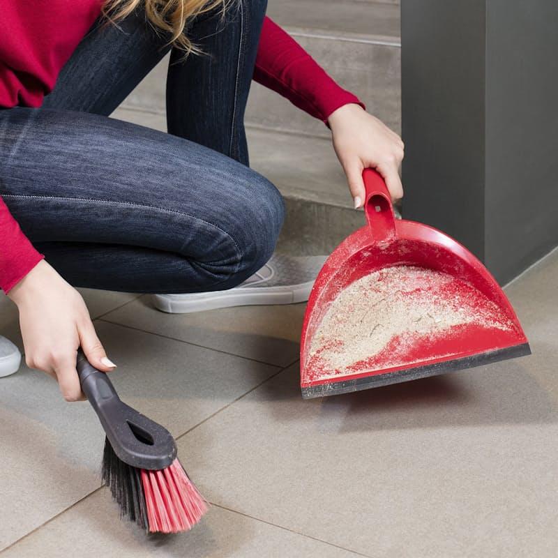 2-in-1 Dustpan & Brush Set