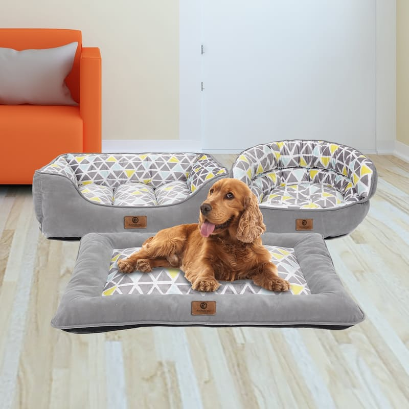 Ultra Soft Square, Round or Flat Pet Bed