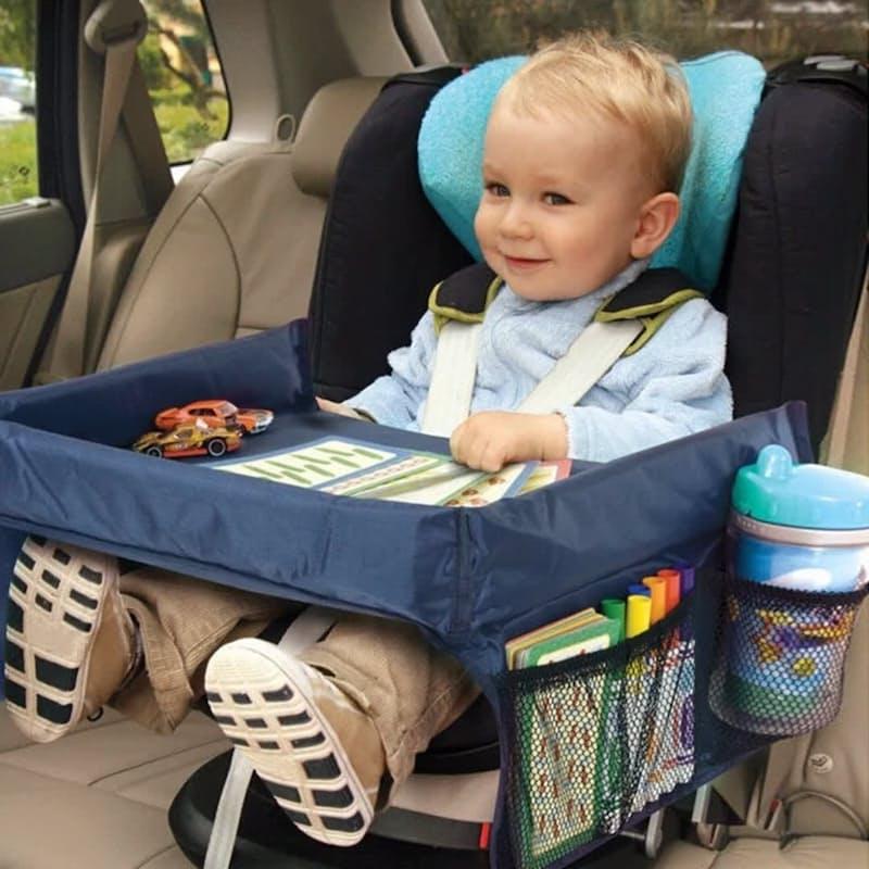 Foldable Multi-Purpose Portable Travel Tray