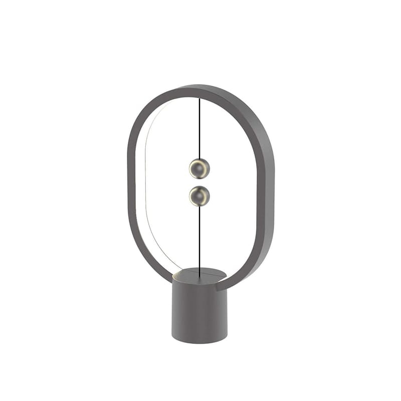 Grey Heng Mini Eclipse Balance LED Lamp with Mid-Air Switch