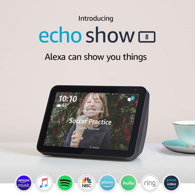 "Echo Show 8 with 8"" Smart Display and Alexa"