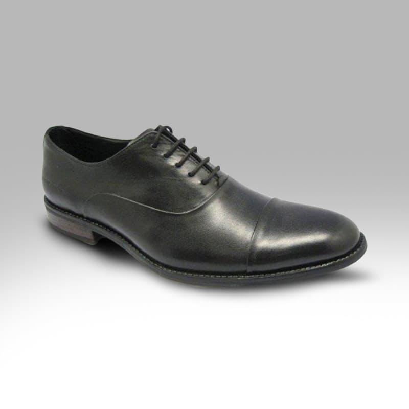 Men's Classic Black Lace-up Leather Shoe