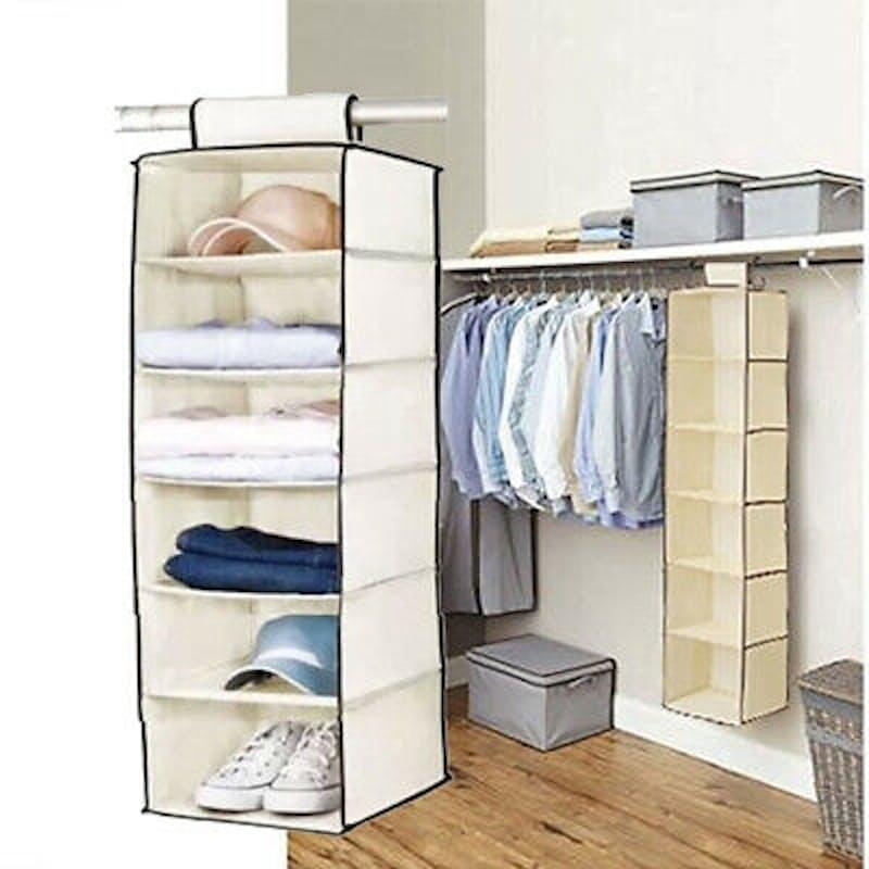Pack of 2 Hanging Storage Shelves
