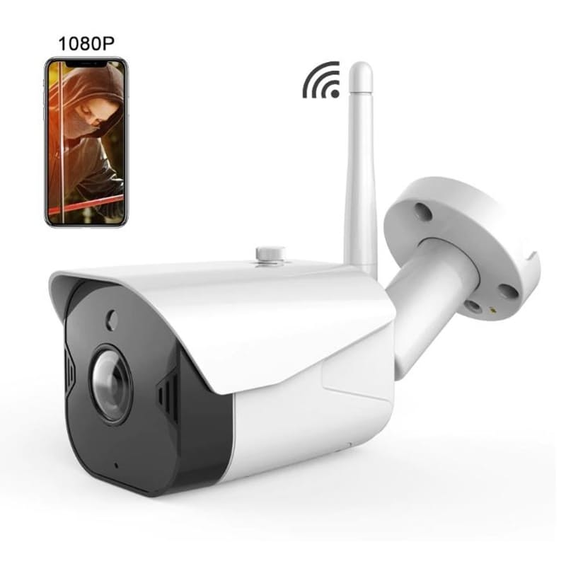 Cloud Storage Outdoor Waterproof Wifi Security Camera with Real-Time Viewing