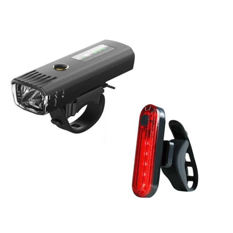 Rechargeable LED Front & Rear Bike Light