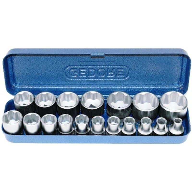 "18-Piece Socket Set (1/2"")"