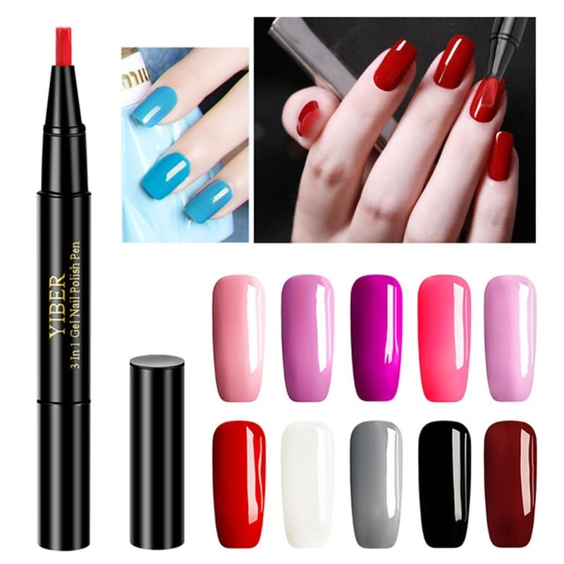 40 Off On Yiber Set Of 2 One Step Gel Nail Polish Pens Multiple Colours Available Onedayonly Co Za